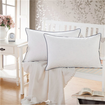 100% Cotton Cover White  Soft Bed Pillow