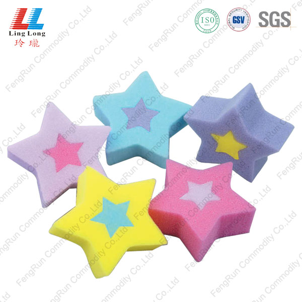star shape sponge