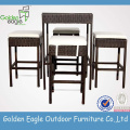 Unique Rattan Bar Set Furniture Tables
