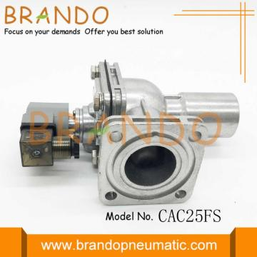 Right Angle Goyen nut type Pulse Valve CAC25FS