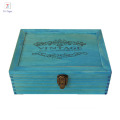 Professional cheap storage treasure wooden box with lid
