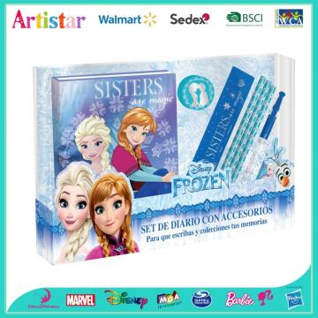 Disney Frozen eight-pack diary set