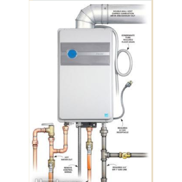 Tankless Hot Water Heater Electric Rheem 12L
