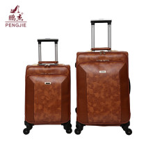 Good looking style PU leather large capacity luggage