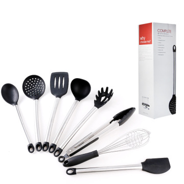 Wholesale Stainless Steel Silicone Kitchen Utensil Set