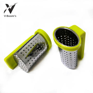 Good Quality for Loose Leaf Tea Infuser PP Handle Stainless Steel Tea Infuser supply to Guadeloupe Factories