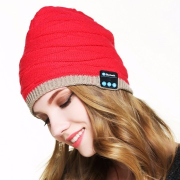 Leading for Bluetooth Hat Headphones Beanie Sports Hat Wireless Bluetooth Headset Headphones export to Nauru Supplier