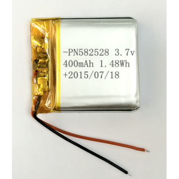 3.7v 400mAh Lithium Ion Polymer Battery (LP2X2T5)