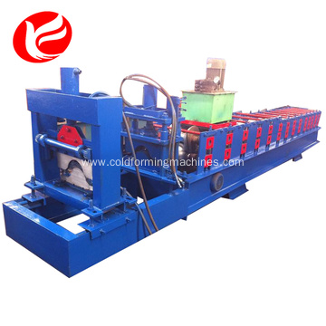 Building materials roof ridge cap roll forming machine