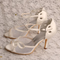 Ivory Wedding Shoes Pumps High Heels Sandals