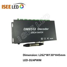 DMX 24channels led decoder driver led rgb strip