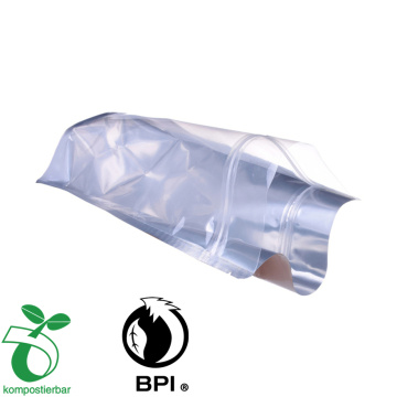 biodegradable compostable aluminum foil packing for food/Tea/Coffee Stand up bags 500g