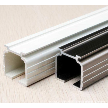 Colorful curtain track 6063 T5 aluminum profile