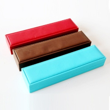 PU leather rectangular jewelry box for bangle