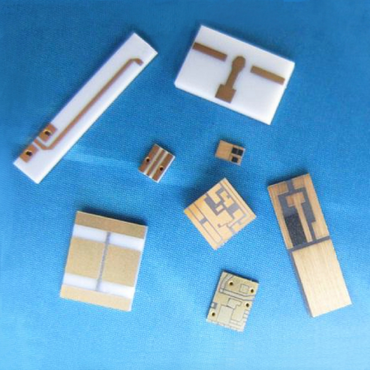 Metallized ceramic circuit