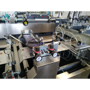 High speed 3 side seal bag making machine