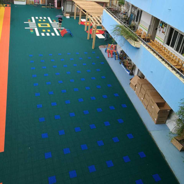 plastic kindergarten floor/safe kids mats