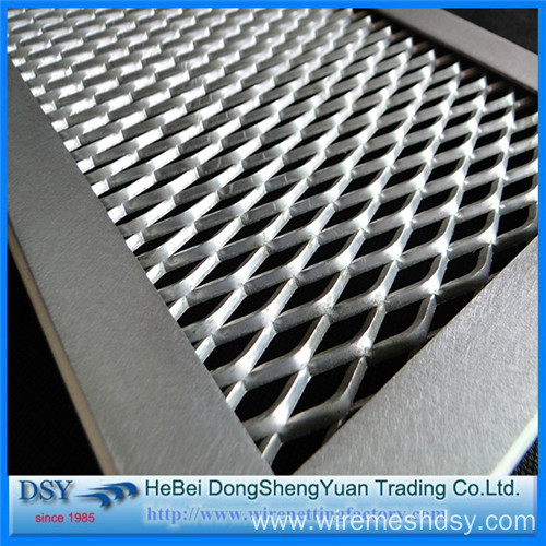 Low Carbon and Aluminium Expanded Plate Mesh