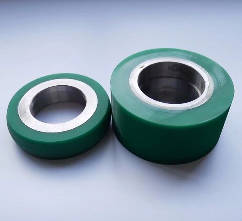 Durable Polyurethane Urethane Pu Traction Wheels And Load Wheels