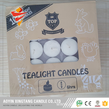 Decorative Wax Tealight Candle Hot Sale