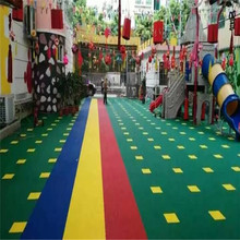 Hot selling attractive for Customized Outdoor Kids Playground plastic floor for indooor sports court flooring tile export to Brunei Darussalam Supplier