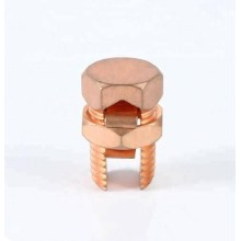 Customized for Copper Split Bolt Connector Brass Connector Bolt Electrical Split Bolt Clamp Connector export to Jamaica Exporter