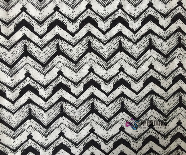 Viscose Printed woven Man-made Fiber  fabric