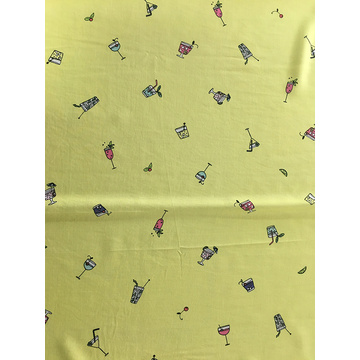 Child Interest Rayon Poplin Printing Broad Width Fabric