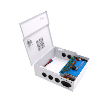12V 4 channels 9channels 18channels ac dc  box cctv power supply with battery backup