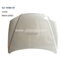 OEM Supplier for Used HYUNDAI Hood Steel Body Autoparts HYUNDAI 2003 ELANTRA HOOD export to Canada Supplier