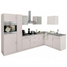 Modern apartment lacquered kitchen cabinet