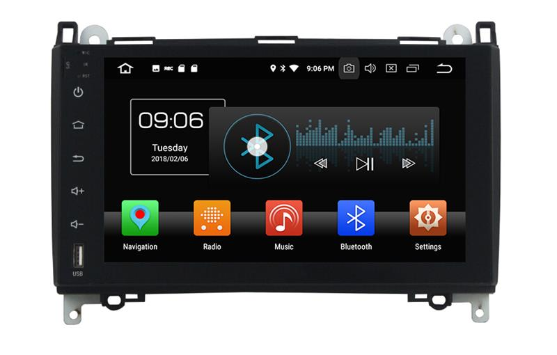 BENZ B200 Android 8 car dvd players (1)