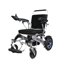High-end portable folding wheelchair