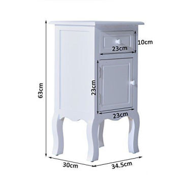 price Cheap Living indoor White antique wooden cabinet furniture