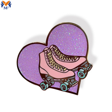 Metal custom cute brooch enamel pin
