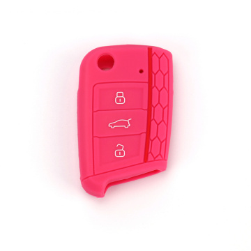 Silicone Key Bag For VW Golf 7