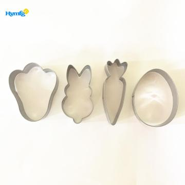 Stainless Steel Easter Cookie Cutter Set 4pcs