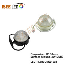 Round Dome LED Pixel Dot Light DMX Control