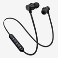 Wholesale silicon stereo sound neckband bluetooth earphone