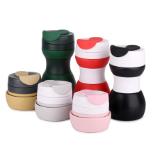 Best Quality for Silicone Collapsible Folding Mug Hot Selling Reusable Outdoor Silicone Coffee Mug Cup supply to Poland Factories