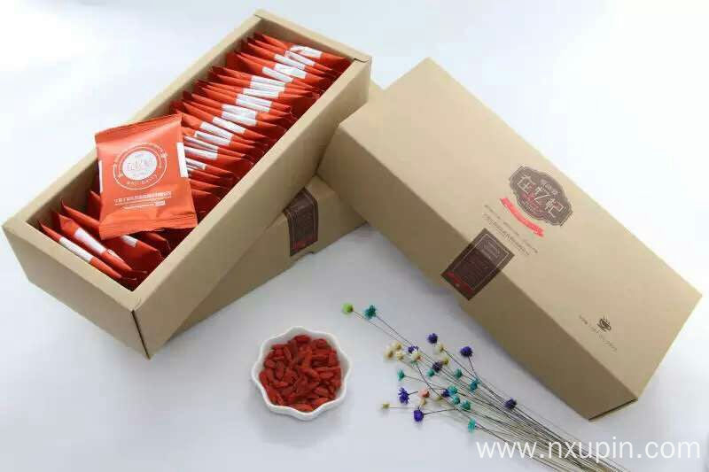 Ningxia specialty Disposable medlar gift box