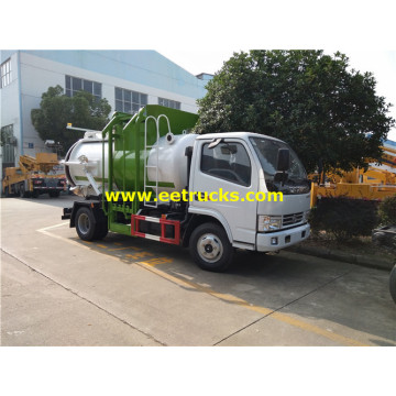 5000 Liters Dongfeng Septic Tanker Vehicles