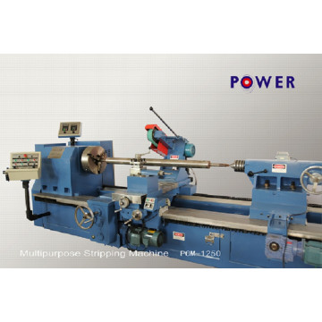 Heavy Duty Rubber Roller Stripping Machine