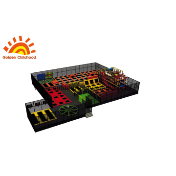 Indoor Fitness Jumping Trampoline park