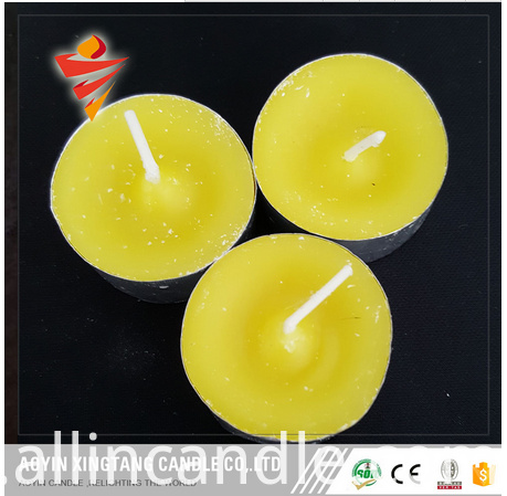 tealight shape citronella candle