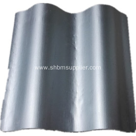 Iron Crown Heat-Insulating MgO Roof Tiles
