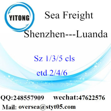 Shenzhen Port LCL Consolidation To Luanda
