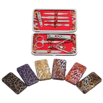 Leather Bag Manicure Pedicure Set