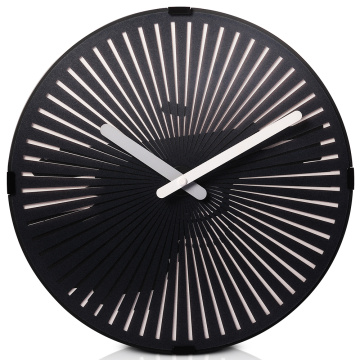 Gun Moving Wall Clock With Light