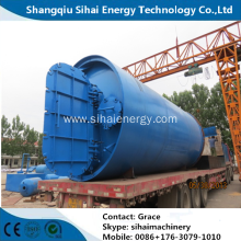 Small Capacity Tire Recycle to Fuel Oil Machine